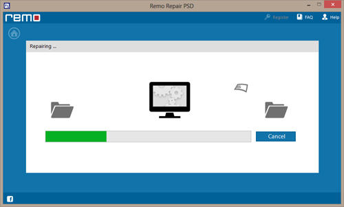 PSD File Repair - Repair Process